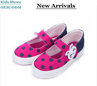 Guangzhou Factory 2015 Latest Design Popular Wholesale Cute Canvas School Shoes Kids Shoes For Girl