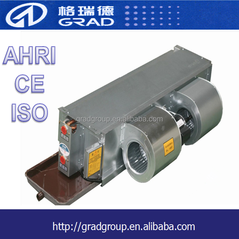 Air conditioning type duct split fan coil unit