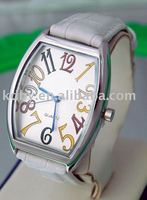 Koda big number japan movt geneva watch stainless steel back quartz water resistant