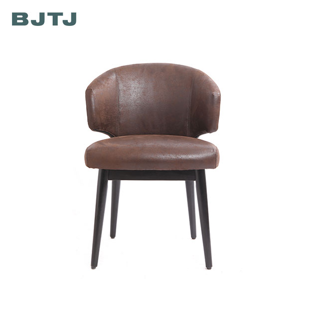 BJTJ home upholstered thick foam seat hotel lounge accent chair reception chair