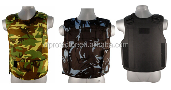 Black Molle Bullet Proof Vest