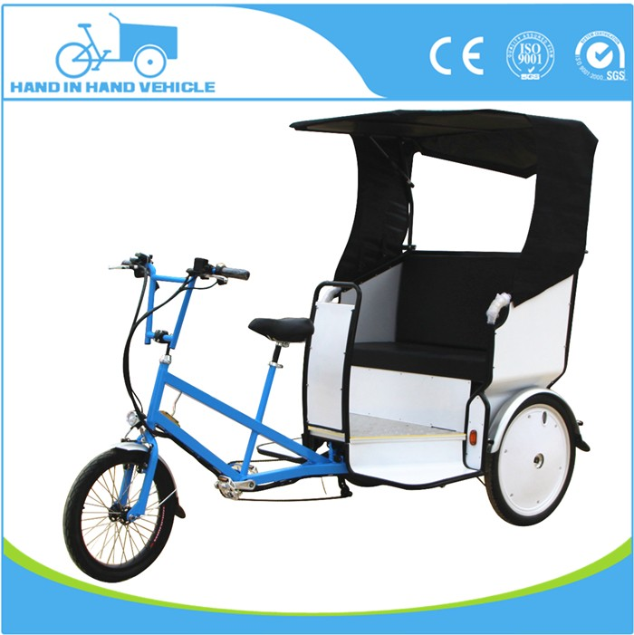 sightseeing taxi three wheel bicycle for adults