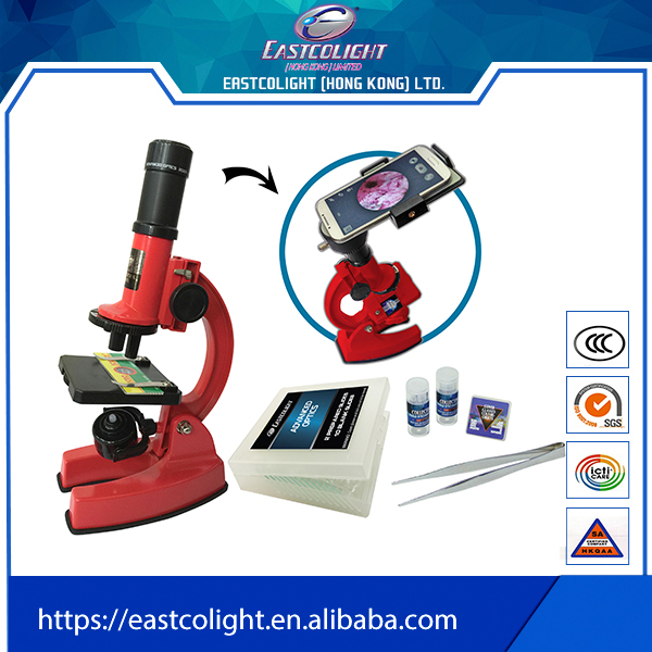 Best Sellingelectronic science Refractor smartphone microscope