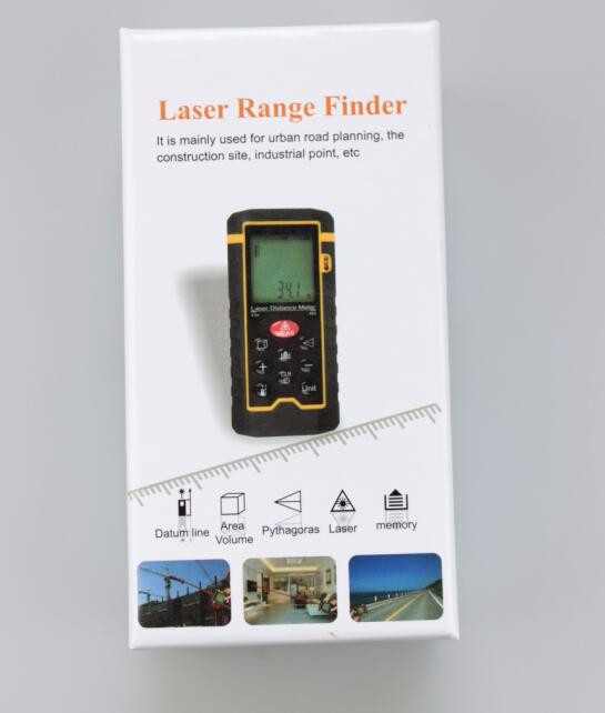 2017 New Design Hot 40 m 60m 80m 100m laser measure distance meter