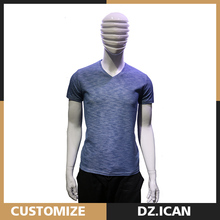 Hot Sale Apparel Cotton Plain Bulk Custom Tshirt Men
