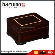 TOP SALE unique design luxury wooden cigar storage box directly sale