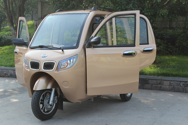 Closed Three Wheel Passenger Car Tricycle 150CC