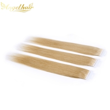 Wholesale Alibaba China 100 Human Hair 27# brown straight Tape Hair Extension For White People
