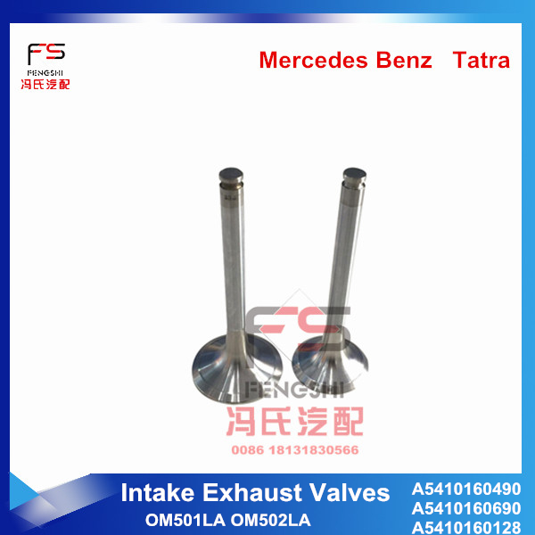 A541 016 0690 Intake Exhaust Valves OM501LA OM502LA for GERMANY ACTROS truck engine