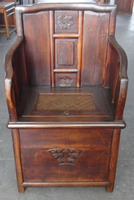 Chinese old wooden chair LWE172