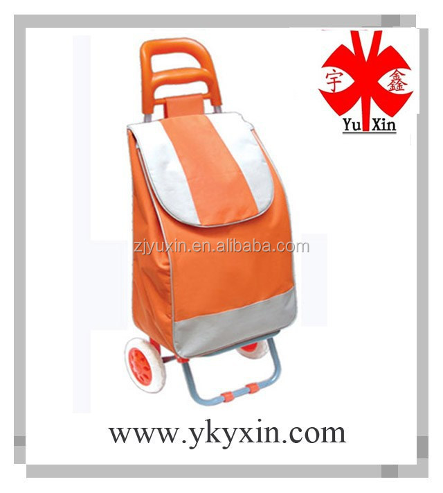 Shopping trolley bag for promotion , vegetable shopping trolley bag