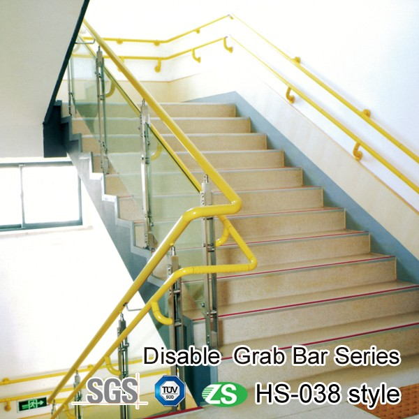Portable Hospital Stair Handrail Stainless Steel bathroom skidproof grab bar For Disabled