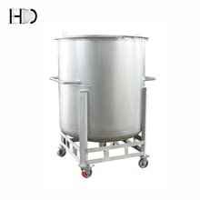 custom stainless steel diesel fuel storage tank