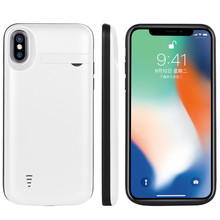 5000 mah External Portable Charger Battery Case for Apple Iphone X