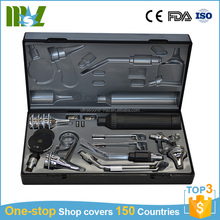 Professional ENT diagnostic set ophthalmoscope otoscope with Dry cell battery
