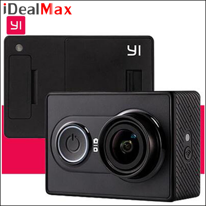 Original International Version Xiaomi Yi 16MP Yi Action Camera 1080P Ambarella A7 Bluetooth Yi Waterproof 2K WIFI Sport Camera