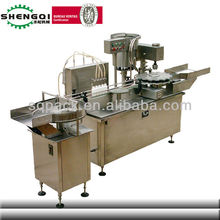 automatic small dose liquid filling and capping machine for teel oil