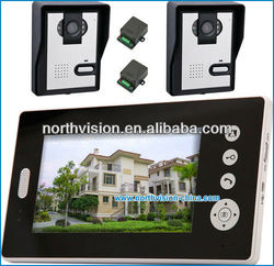 home security 7 inch monitor video door wireless camera with night vision outdoor camera, photo shooting, doorbell