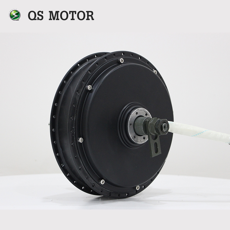 QSMOTOR 2000W 205 50H V2 High efficiency brushless DC electric bike wheel spoke hub motor