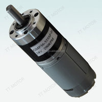 high torque 36mm gear motor of 12v dc motor
