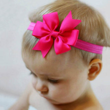 Hair accessories headband ribbon baby bow