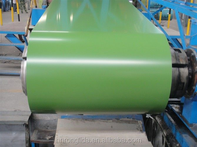 RAL bule or red color prepainted steel coil / ppgi / ppgl wave roofing tiles