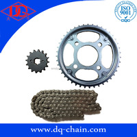 South America gear sets TITAN 150 transmission kits Chain and Sprocket Sets for Motorcycle parts