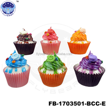 New 2017 hot sale butter cake Fake Cake Promotional Souvenir Gifts paper ice cream cup simulated food models
