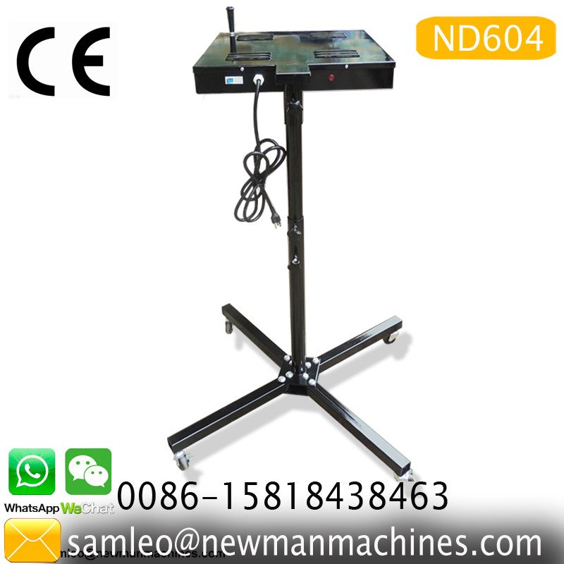 low cost factory direct sales screen printer 4 Color 1 Station Silk Screen Printing machine with simple dryer T-Shirt clothes
