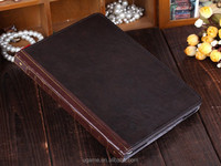 Vintage Fashion stylish flip pu pouch protective leather book case for ipad mini/2/3/4/5/6