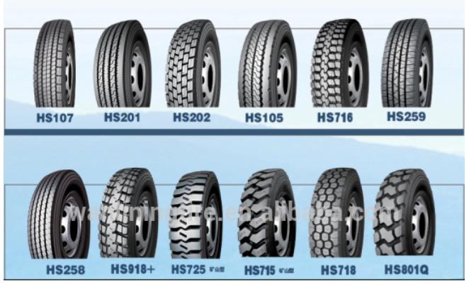 truck tire pattern 2