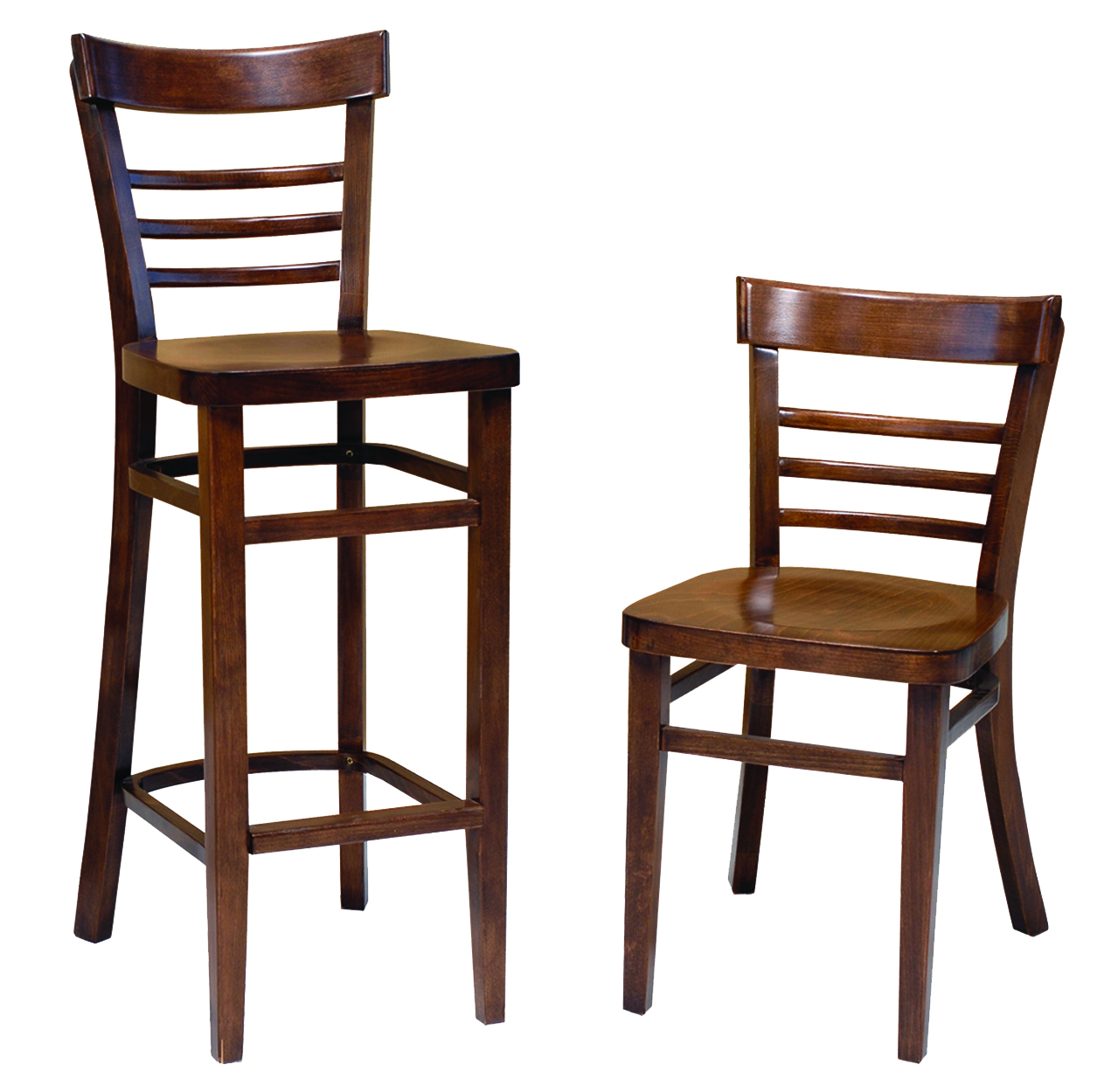 High quality coffee shop cafe stacking wood dining chair