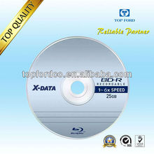 25GB 6X Blu ray disc white inkjet printable free sample available