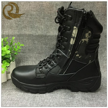 waterproof camouflage hunting boots shoes/military officers shoes