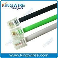 Hot Sale Flat RJ11 Telephone Cable