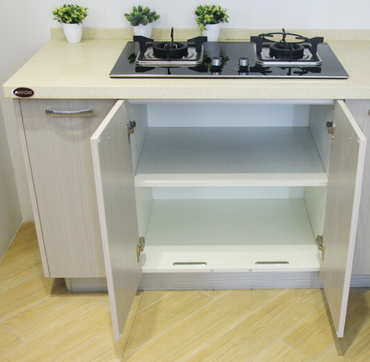Environmental cleanwood kitchen cabinet design