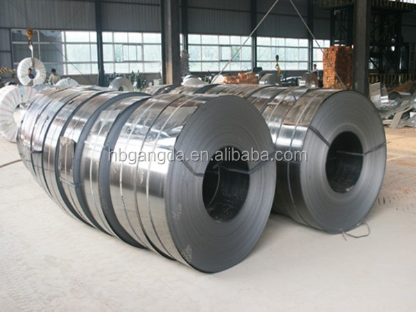 Popular disigned small spangle zinc coated steel strip galvanized steel sheet china factory