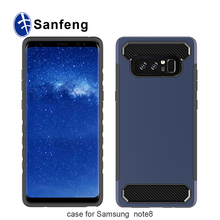 For Galaxy Note 8 Case, Dual Layer Hybrid Hard PC Back Soft TPU Raised Edge Case for Samsung Galaxy Note 8 2017