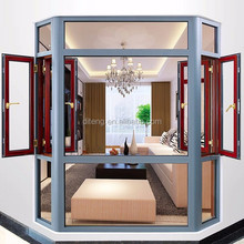 Aluminum tempered glass door window rv entry door