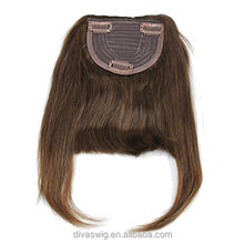 Cheap Human Remy Hair Fringe,brazilian hair extension bangs,Clip In hair Pony