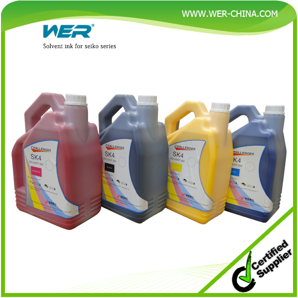 High quality original no bad smell SPT 510 /35PL print head challenger sk4 solvent ink