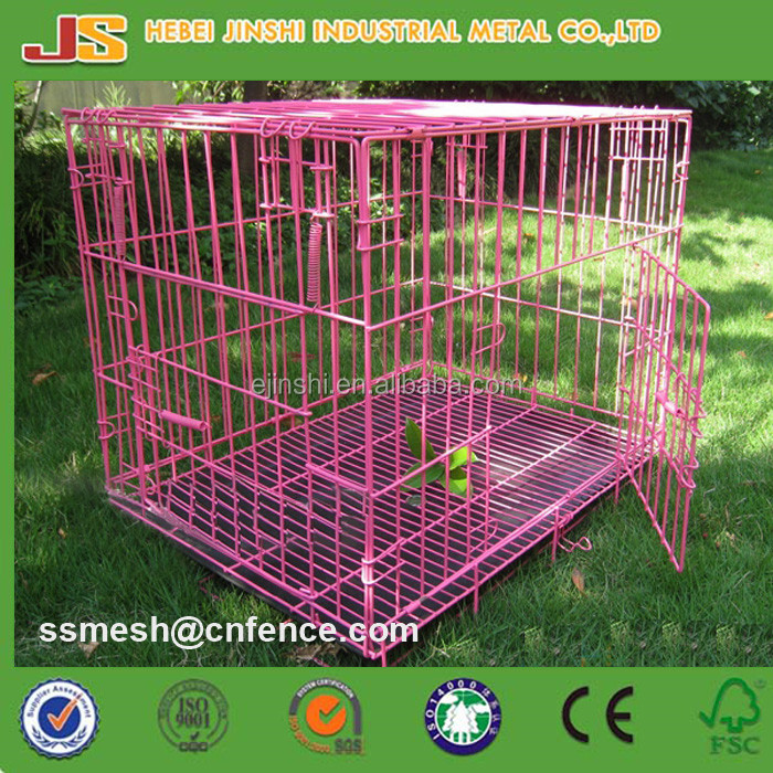 "24"", 30"", 36"", 42"", 48"" metal wire dog crate, dog cage, dog kennel"