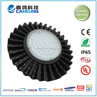 110v 220v 130LM/W dimmable low heat UFO 200w led highway light