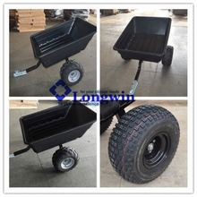 poly atv wood trailer