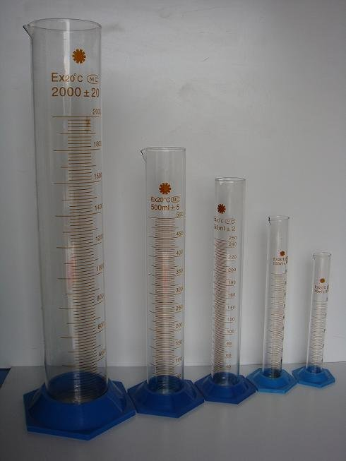 laboratory YL- Glass glassware measuring cylinder