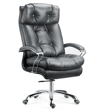 A011 Luxury boss excutive leather soft leather office chair and table air chair