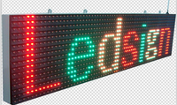 alibaba express used outdoor digital signs sale p10 outdoor full color led sign/double side led display