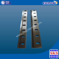 Hydraulic Guillotine Shearing Blades for Corrugated Paper