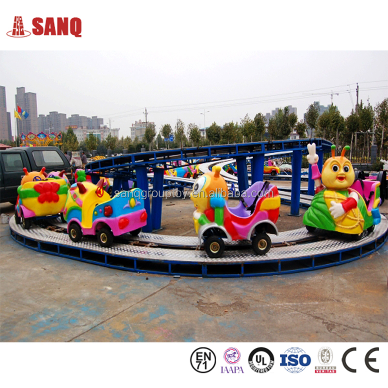 Latest Outdoor Amusement Park Rides Mini Shuttle Electric Convoy Track Train For Sale,Kids Electric Train