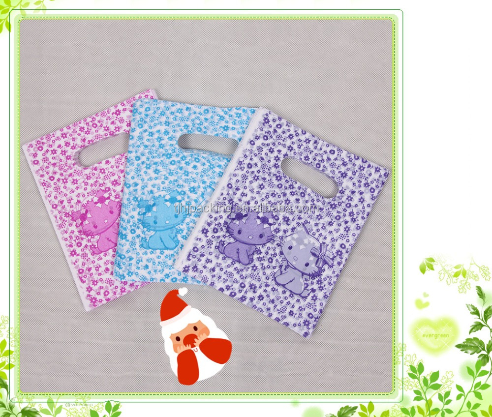 shopping gift and cheap plastic bags/cheap custom shopping plastic bags